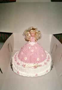 Gâteau anniversaire Barbie