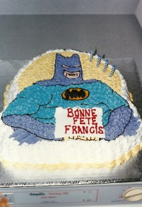 Gâteau anniversaire Batman